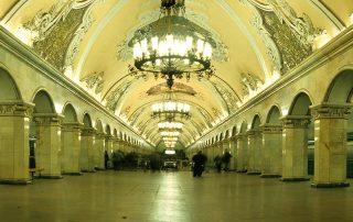 Metro Moskou Sovjet Travel