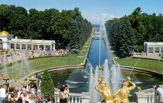 Zomerpaleis en zomertuinen van de tsaar