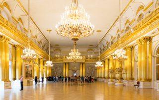 Rusland Reizen Hermitage Sint Petersburg