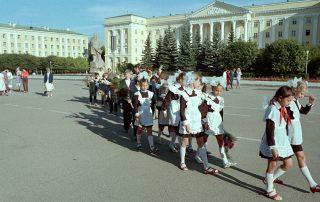 Eerste schooldag Sovjetunie