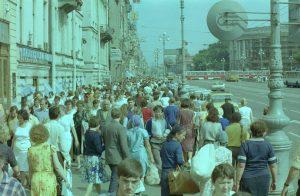 Nevski Prospekt Leningrad 1985